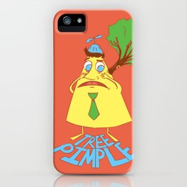 Tree Pimple iPhone Case