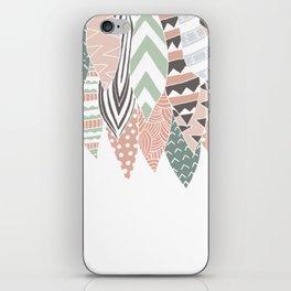 PLUMAS iPhone Skin