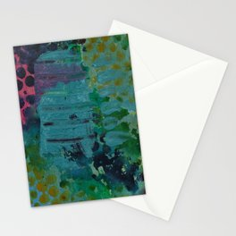 Sound Effects in Teal Stationery Cards