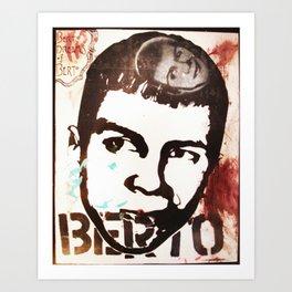 Berto Dreams of Berto Art Print