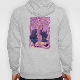 The Girl with the Magic Hair Hoody