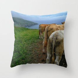Will You Miss the Views??? Throw Pillow