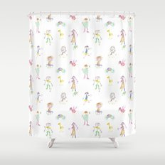 kids Shower Curtain
