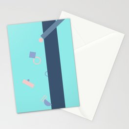 Popping Shapes Stationery Cards