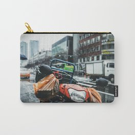 Out in the Rain Carry-All Pouch