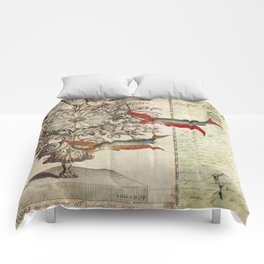 Fish of a Feather Comforters
