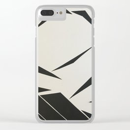 When Mountains Move - B Clear iPhone Case
