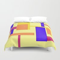 geo Duvet Covers featuring Geo by lillianhibiscus