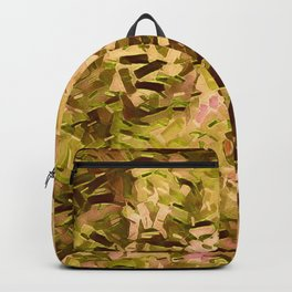 Pantone Olive Confetti Backpack