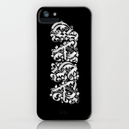 black letter iphone cases to match your personal style society6 society6