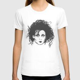 Ed Scissorhands Sketch T-shirt