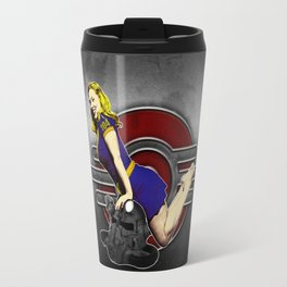 atomic bombshell Travel Mug