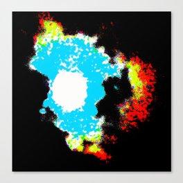 Galctica Canvas Print