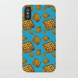 Waffle morning iPhone Case