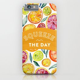 Squeeze the Day – Multi Palette iPhone Case