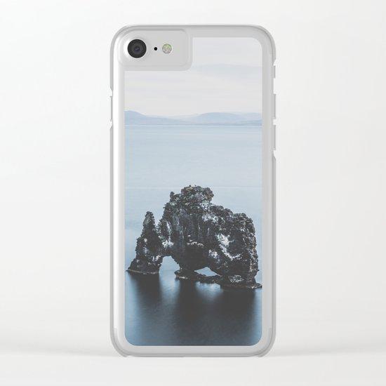 Hvitserkur, Iceland III Clear iPhone Case