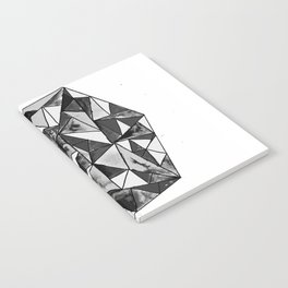 COLOURED GEOMETRIC PATTERN Notebook