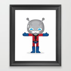 ANTMAN ROBOTIC Framed Art Print