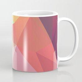 geometric V Coffee Mug