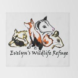 Wildlife Rescue Throw Blanket