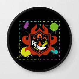 Splatoon - Game of Zones Wall Clock