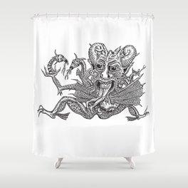 SaTaN Shower Curtain