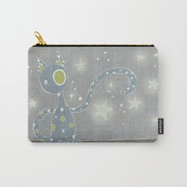 Gris the Starry Cat Carry-All Pouch