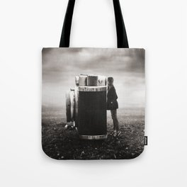 Looking Through Time Tote Bag
