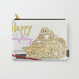 Happy as a Dumpling Carry-All Pouch