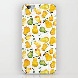 Sweet pears iPhone Skin