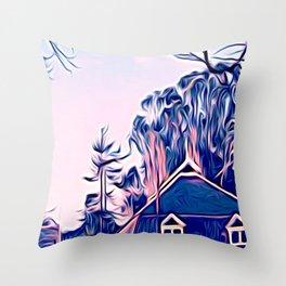Wilder Branch Throw Pillow