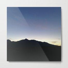 Dawn In Tucson Metal Print