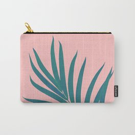 Tropical Palm Leaf #3 #botanical #decor #art #society6 Carry-All Pouch