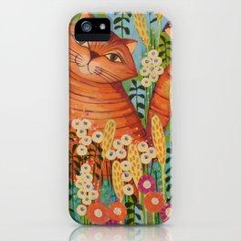 Cat in Love iPhone Case