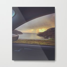 Kinlochbervie Sunset Metal Print