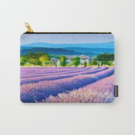 LAVENDAR FIELD1 Carry-All Pouch