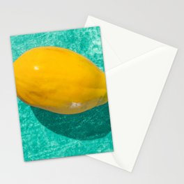 acqua papaya Stationery Cards