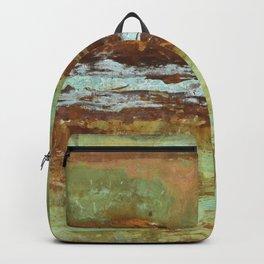 Blue Green Stream Backpack