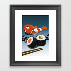 Asian Food Framed Art Print