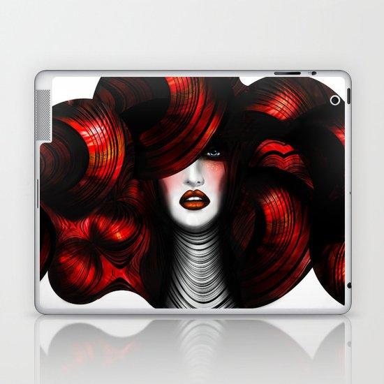 WOMAN FACE (ELEGANCE) Laptop & iPad Skin