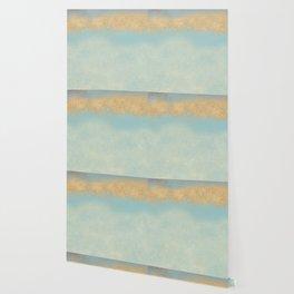 Gold Path Wallpaper