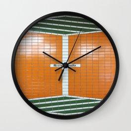 Ritterstraße, Hamburg Wall Clock