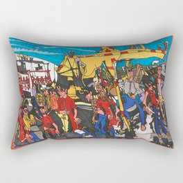 The Midway - Calgary Stampede Rectangular Pillow