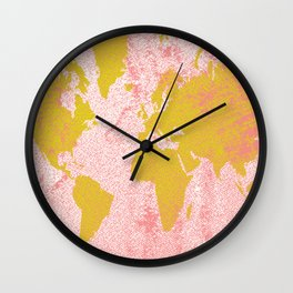 COME WITH ME AROUND THE WORLD Wall Clock