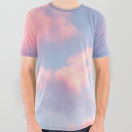 Whimsical Sky All Over Graphic Tee