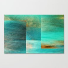 Fantasy Oceans Collage Canvas Print