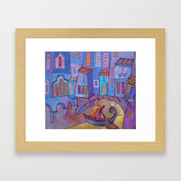 Route of Argonauts Framed Art Print