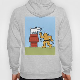 Keith Haring + Charles Schulz Hoody