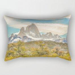 El Chalten, Patagonia, Argentina Rectangular Pillow