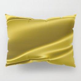 Gold satin texture Pillow Sham